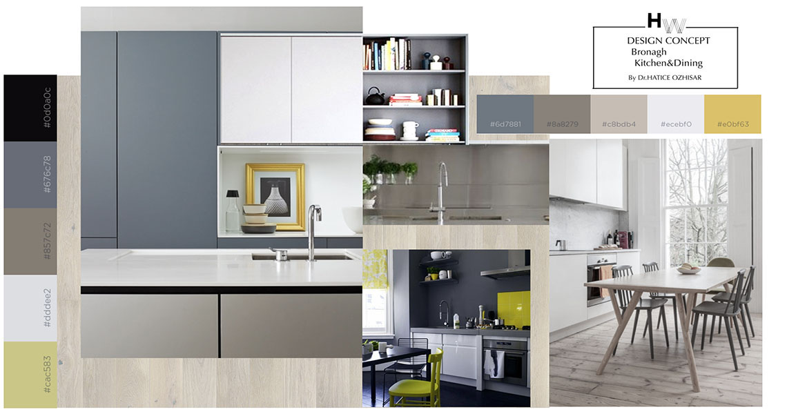 Dining U0026 Kitchen Of Open Plan House Design In London