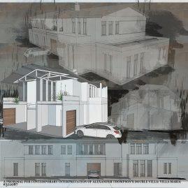 Alexander Thompson's double villa competition