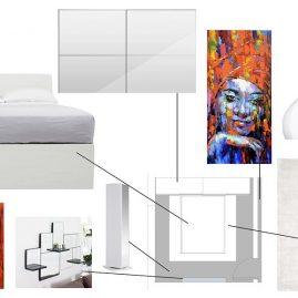 Dora's house in London: Bedroom