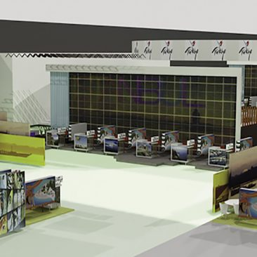 Exhibition design: ITB Berlin